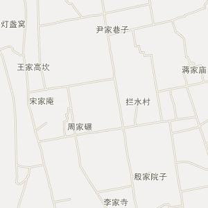 北二外手绘地图