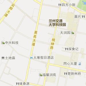 兰州安宁电子地图_中国电子地图网