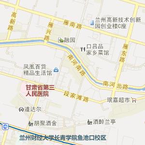 城关渭源路电子地图_渭源路道路地图