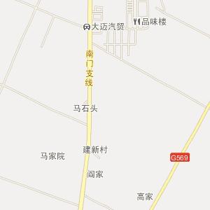 民勤县行政区划地图