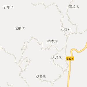 屏山县大乘镇电子地图