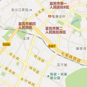 四川省宜宾市电子地图