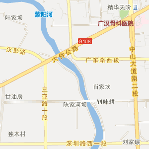 广汉市新丰镇电子地图