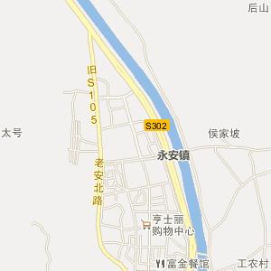 安县永安电子地图_中国电子地图网