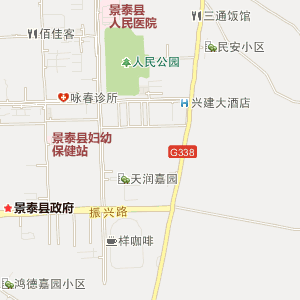 白银景泰电子地图_中国电子地图网