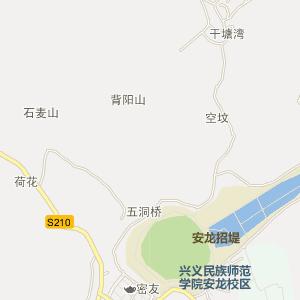 黔西南安龙电子地图_中国电子地图网