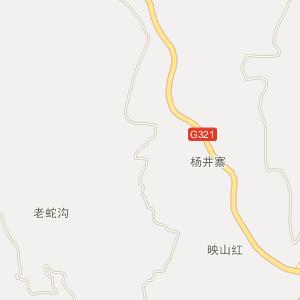 马蹄乡卫星地图 泸州市古蔺县马蹄乡卫星地图