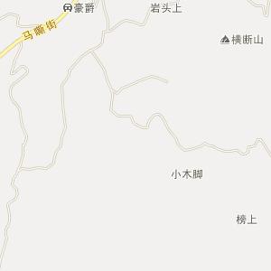 古蔺县马嘶苗族乡电子地图