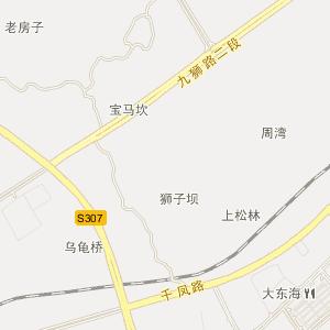 龙马潭莲花池电子地图图片