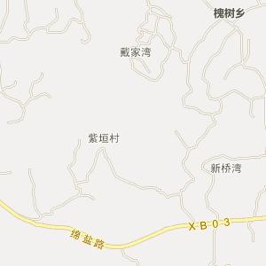 三台塔山电子地图
