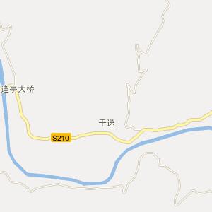 罗甸逢亭电子地图