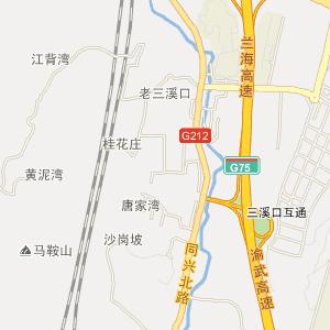 重庆电子地图 北碚电子地图