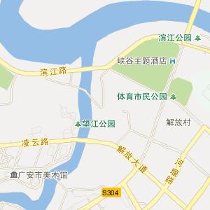遂广高速岳池连接线