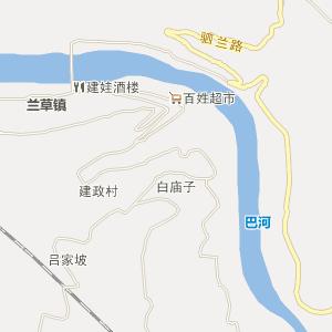 平昌兰草电子地图_中国电子地图网
