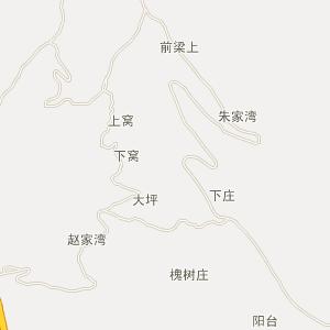 陕西电子地图 宝鸡电子地图