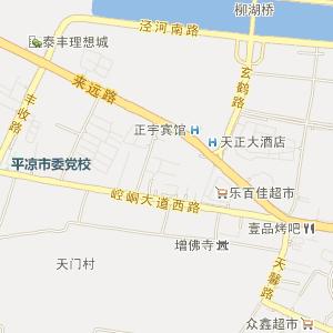 兰州马秦铁路地图