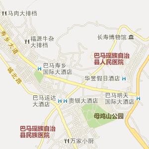 广西电子地图 河池电子地图