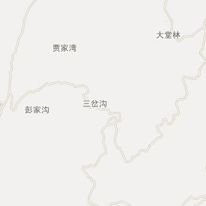 凤冈县行政区划地图