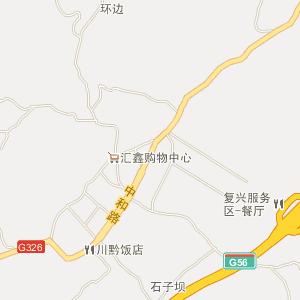 贵州电网最新地理接线图