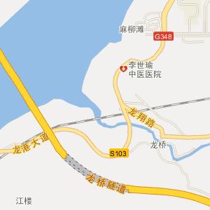庐江到无为地图