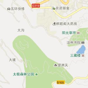 涪陵崇义电子地图_中国电子地图网