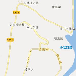 巴中市通江县行政区划