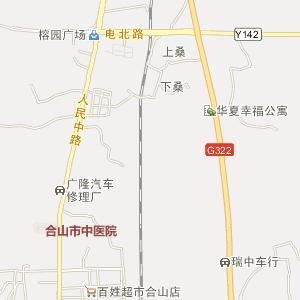 来宾合山电子地图_中国电子地图网