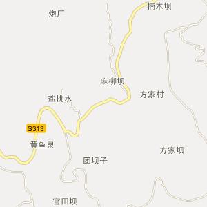 石柱马武电子地图_中国电子地图网