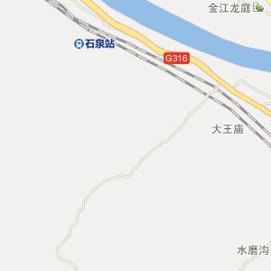 陕西电子地图 安康电子地图