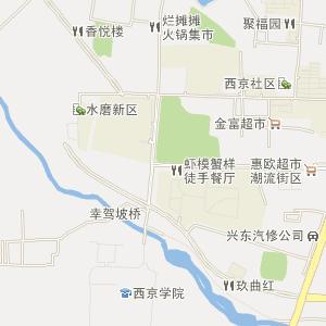 西安长安电子地图