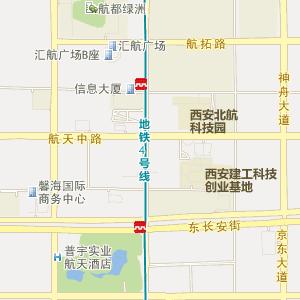 陕西电子地图 西安电子地图