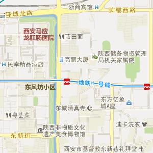 陕西西安电子地图_西安在线旅游交通图