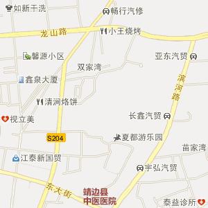 榆林靖边电子地图_中国电子地图网