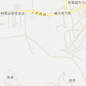 海南儋州电子地图_儋州在线旅游交通图