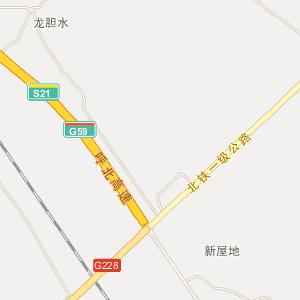 广西电子地图 北海地图
