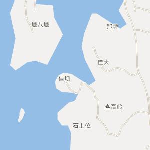 廉江市长山镇电子地图查询