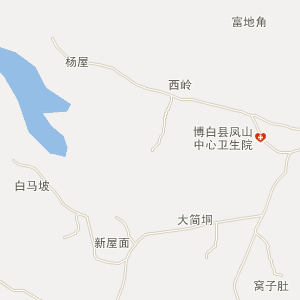 博白凤山电子地图_中国电子地图网