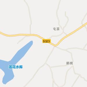 广西电子地图 来宾电子地图