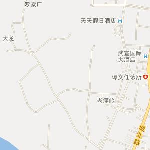 来宾武宣电子地图_中国电子地图网