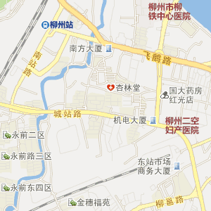 柳州柳南电子地图_中国电子地图网