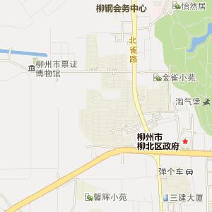 柳州市地图,柳州电子地图