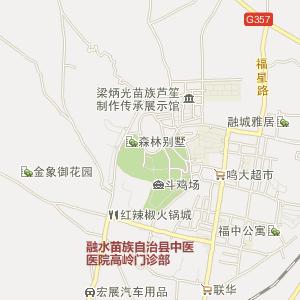 位于广西柳州市融水县元宝山国家级森林保护区中