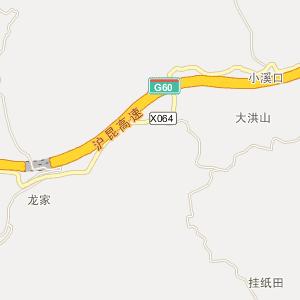 芷江县大洪山乡电子地图查询