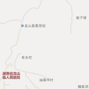 湘西龙山电子地图_中国电子地图网