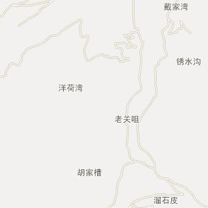 奉节县行政地图