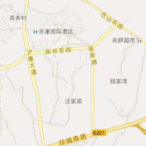 陕西安康电子地图_中国电子地图网