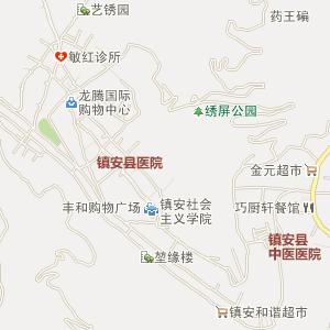 陕西电子地图 商洛电子地图