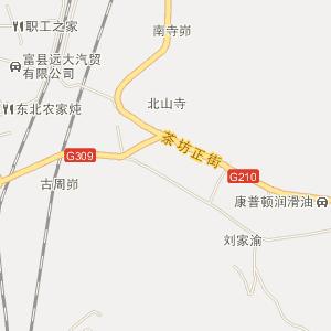 延安富县电子地图_中国电子地图网