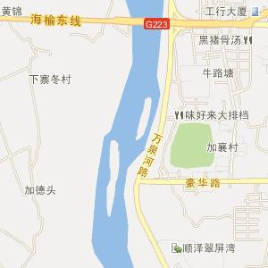 琼海市-嘉积镇电子地图