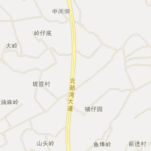 湛江廉江高清电子地图